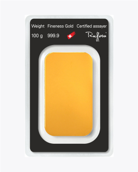 Lingote de oro 100gr