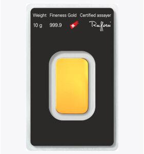 Lingote de oro 10gr